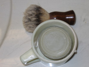 Shaving brush and Cup